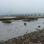 Severn Bridge from Severn Beach