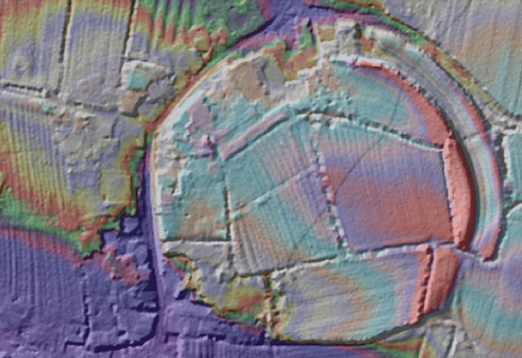 lidar oldbury archaeology toot
