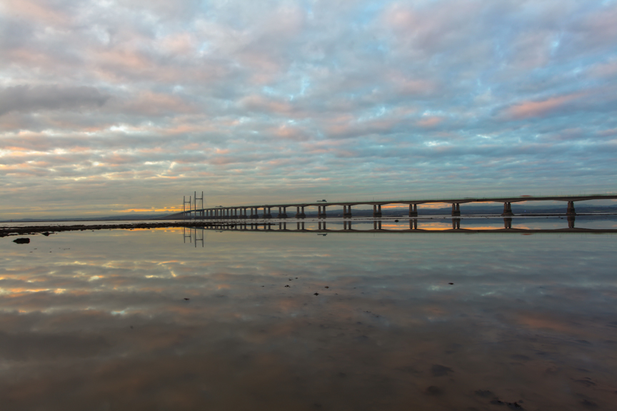 View of second Severn crossing